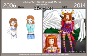 Character Development Meme: Izka by izka-197