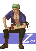 Z like Zoro by Ludimie