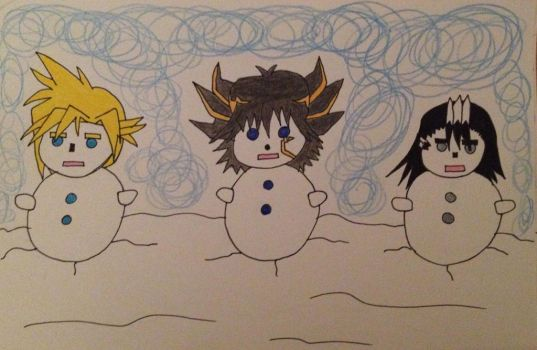 Merry Christmas and Happy New Year 2015!! - (3/3) by MoonDancer89