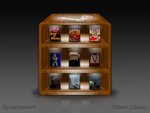Steam Library by sycamoreent-REMIX