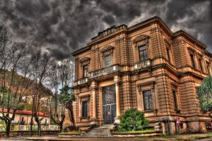 Old post office Cosenza- HDR by yoctox