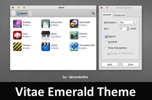 Vitae Emerald Theme by devondashla