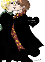 Draco x Harry for shinigami714 by wheaten