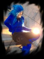 Saix Halloweentown Version Cos by LadyNoxia
