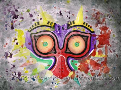 Majora's Mask by ShadowPhoenixRisen