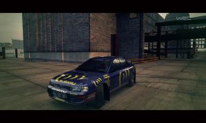 New livery for DiRT 3 - L555 BAT by hfg06