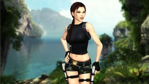 Lara_Croft_Coastal_Thailand by ivedada