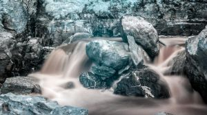 Infrared waterfall by DuarteFotografiach