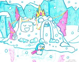 Seasons Greetings From Finn A Jake by Suemoons