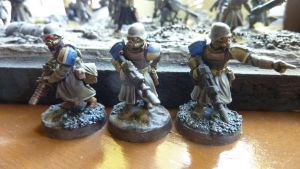 Imperial Guard Veterans - Troopers close up 1 by rhx-No-Quarter