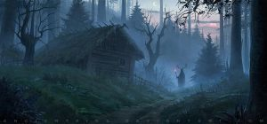 Warlock's forest by AncientKing