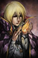 Howl + Calcifer by Ninjatic