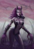 Demoness by NickHerbert