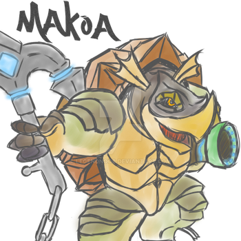 Makoa The Ancient - Paladins by LegendNooB