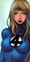 UPCLOSE: Invisible Woman by johnbecaro