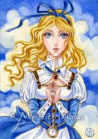Alice ACEO by MeredithDillman
