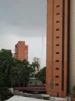 Tornado in Maracaibo by a5rriente