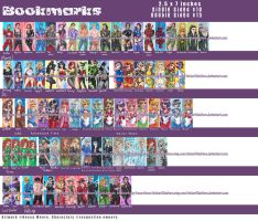 Bookmarks Master List by Hatter2theHare