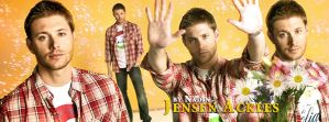 Jensen (Banner for Timeline) by Nadin7Angel