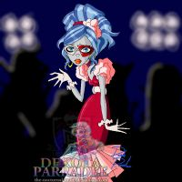 MH - Prom Night Ghoulia by Chibi-Warmonger