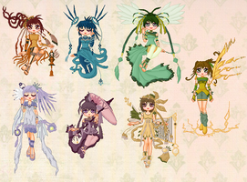 Zeiva Doll Collection by cutepiku