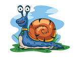 Free Vector Snail Illustration by pixaroma
