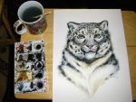 Snow Leopard Tutorial 8 by HouseofChabrier