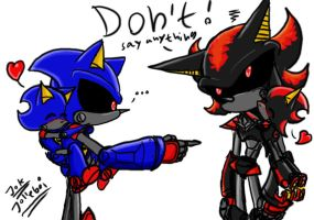Metal Sonic's son 5 by Jolleboi