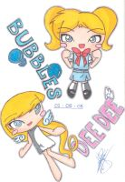 Bubbles and Dee Dee CHIBI by pokediged