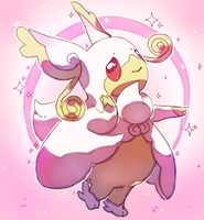 Mega Audino by PinkGermy