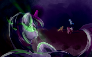 Painted Doodle-You're not needed anymore by thetriforcebearer