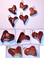 clay hart-shapped chocolates 1 by cihutka123