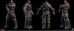 Gow3: Michael Barrick 2 by DecadeofSmackdownV3