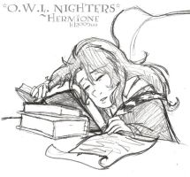 O.W.L Nighters -HP by lberghol
