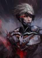 MGR: RAIDEN by Fiveonthe