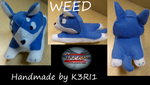WEED plush by K3RI1