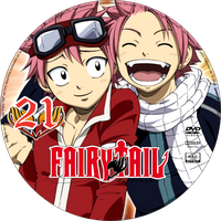 Fairy Tail DVD - 21 by Fan-Art-Otaku