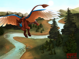 -Commission- Soaring by Makirou
