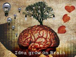 Idea Grow on the brain by joanna5549