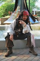 Captain Jack Sparrow at Anime Midwest by SweeneyT-DemonBarber