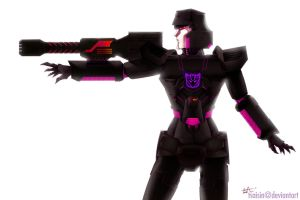 TF: Female Megatron Alt. G1 by tsaisin