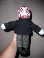 Mushroomhead plushie J-Nothing by thedollmaker