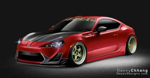 2013 Scion Time Attack FR-S by Dannychhang