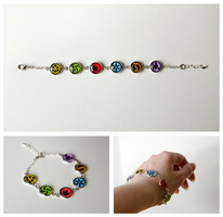 Bracelet - Sage Medallions - The Legend of Zelda by Kattvalk