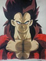 Vegeta SSJ4 by android17lover