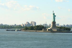 Statue of Liberty stock by hyannah77-stock