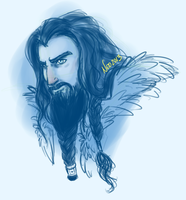 Thorin WIP by XNedra22