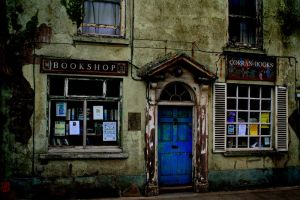 The curious olde book shop. by nectar666