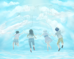 Let's jump SKY HIGH! by Candaey