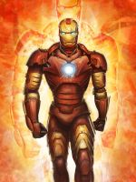 iron man by atlantiz15